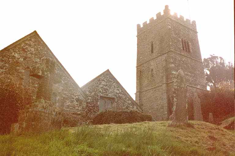 Talland's ancient church